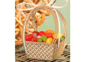 Stanzschablonen: Osterkorb, auch als Blumenkorb und Picknik-Korb