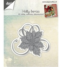 Joy!Crafts Stamping template: Holly with berries