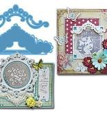 Marianne Design Stansejern, Creatables -Petra ornamenter
