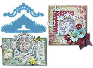 Marianne Design Stanzschablonen, Creatables -Petra ornamente
