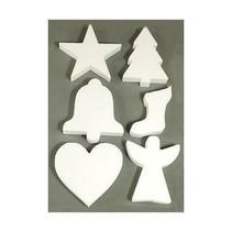 6 Weihnachtsmotive en polystyrène