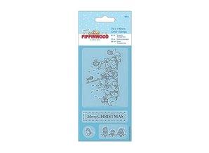 Gennemsigtige frimærker, Pippi Træ jul