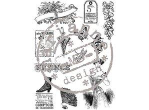 Stempel / Stamp: Transparent Transparent Stempel, Victorian Vintage