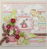 Joy!Crafts und JM Creation sello transparante: Bebé