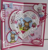 Joy!Crafts und JM Creation Transparante timbro: Bambino