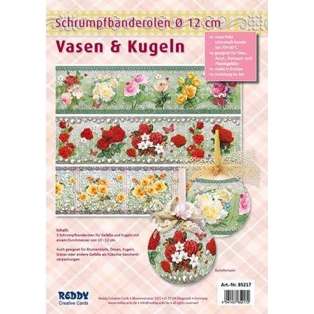 Shrink mangas para los floreros y macetas