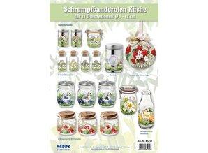 Assortment of kitchen banderoles, set for 21 banderoles
