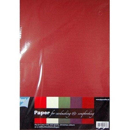 DESIGNER BLÖCKE  / DESIGNER PAPER A4 paper SET with 25 sheets in warm colors, 200gsm !!