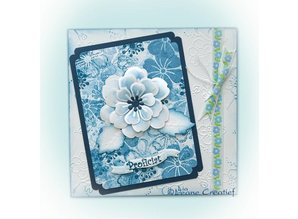 Leane Creatief - Lea'bilities Leabilities, stamping - and embossing stencil, NMulti the flower blossom 008