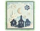 Leane Creatief - Lea'bilities Lea'bilitie, pretty houses, cutting and embossing stencils
