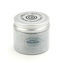Kosmisk Shimmer Sparkle Texture pasta, sølv