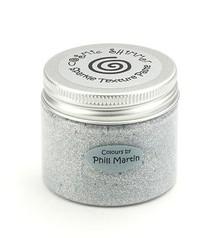 Schablonen und Zubehör für verschiedene Techniken / Templates Cosmic pasta Shimmer Sparkle Texture, argento