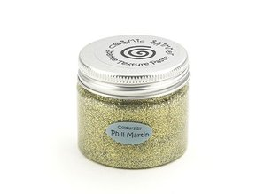 Schablonen und Zubehör für verschiedene Techniken / Templates Cosmic Shimmer Sparkle Texture Paste, New Gold