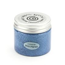 Cósmica shimmer textura pegar agraciada azul