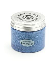 Schablonen und Zubehör für verschiedene Techniken / Templates Cosmic Shimmer-Sparkle Texture Paste, Graceful Blue