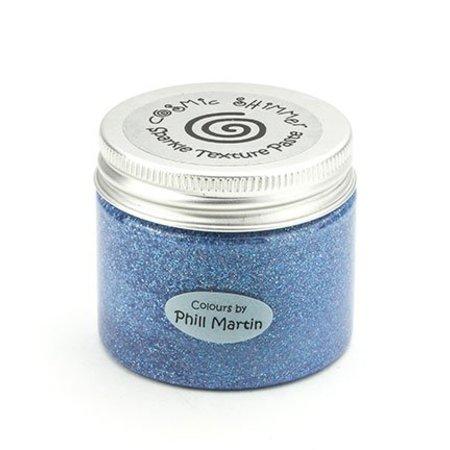 Schablonen und Zubehör für verschiedene Techniken / Templates Cósmica shimmer textura pegar agraciada azul