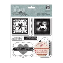 Rubber stamps: Christmas motifs
