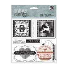 Docrafts / Papermania / Urban Gummi stempel: Jul
