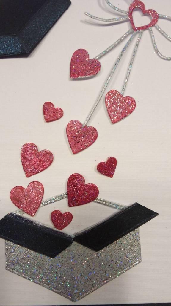 """Penny Black Stanzschablonen: """"Heart bow"""", Herz Schleife ..."""