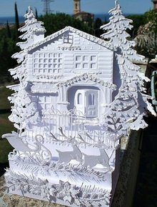 Marianne Design Stanzschablone: ​​Victorian House - only 1 in stock!