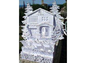 Marianne Design Stansning skabelon: Victorian House - eneste tilgængelige!