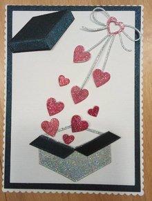 Joy!Crafts und JM Creation Cutting & Embossing: box, gift