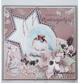 Marianne Design Stansning skabelon: syv stjerner