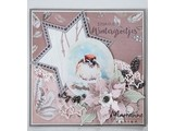 Marianne Design Stamping template: 7 stars
