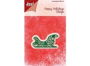 Joy!Crafts Corte y estampado: trineo