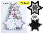 Marianne Design plantilla de perforación: siete estrellas