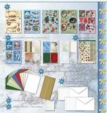 "BASTELSETS / CRAFT KITS: Set completo: libro mestiere 3D ""Natale tradizionalmente"""