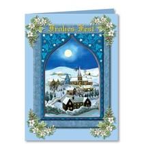 """Complete Set: 3D ambachtelijke boek """"Kerst traditioneel"""""""