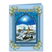 "Complete set: 3D-craft folder ""Christmas traditional"""