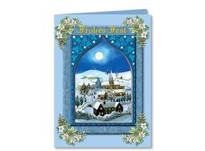 """BASTELSETS / CRAFT KITS: Complete set: 3D-craft folder """"Christmas traditional"""""""