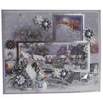 Di lusso Topper Set per la progettazione di varie cartoline di Natale