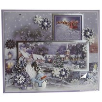 Luxury Topper Set for the design of various Christmas cards