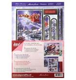 BASTELSETS / CRAFT KITS: Di lusso Topper Set per la progettazione di varie cartoline di Natale