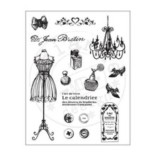 Marianne Design Transparent stamp, vintage, format 40mm x 125mm