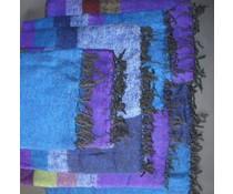 Meditatiedeken Yakwol Blauw