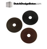 StoneTech StoneTech Combo Pack Diamond polishing pads grit 100, 200, 400