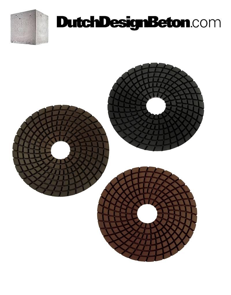 StoneTech Vorteilspaket StoneTech Diamant-Polierpads 100, 200 und 400