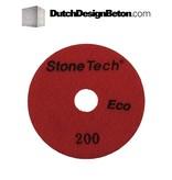 StoneTech StoneTech Diamant Schuurschijf 200 voor machine (Middel/rood)