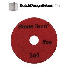 StoneTech StoneTech Diamond polishing pad grit 200 (middle)