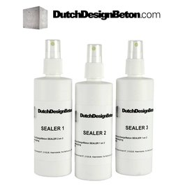 CRTE Three step Sealer System for DesignConcrete