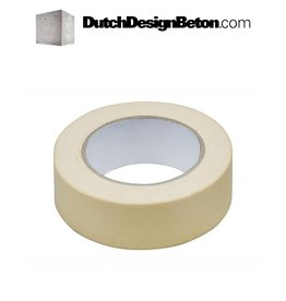 DutchDesignBeton.com Masking tape 25 mm x 50 m
