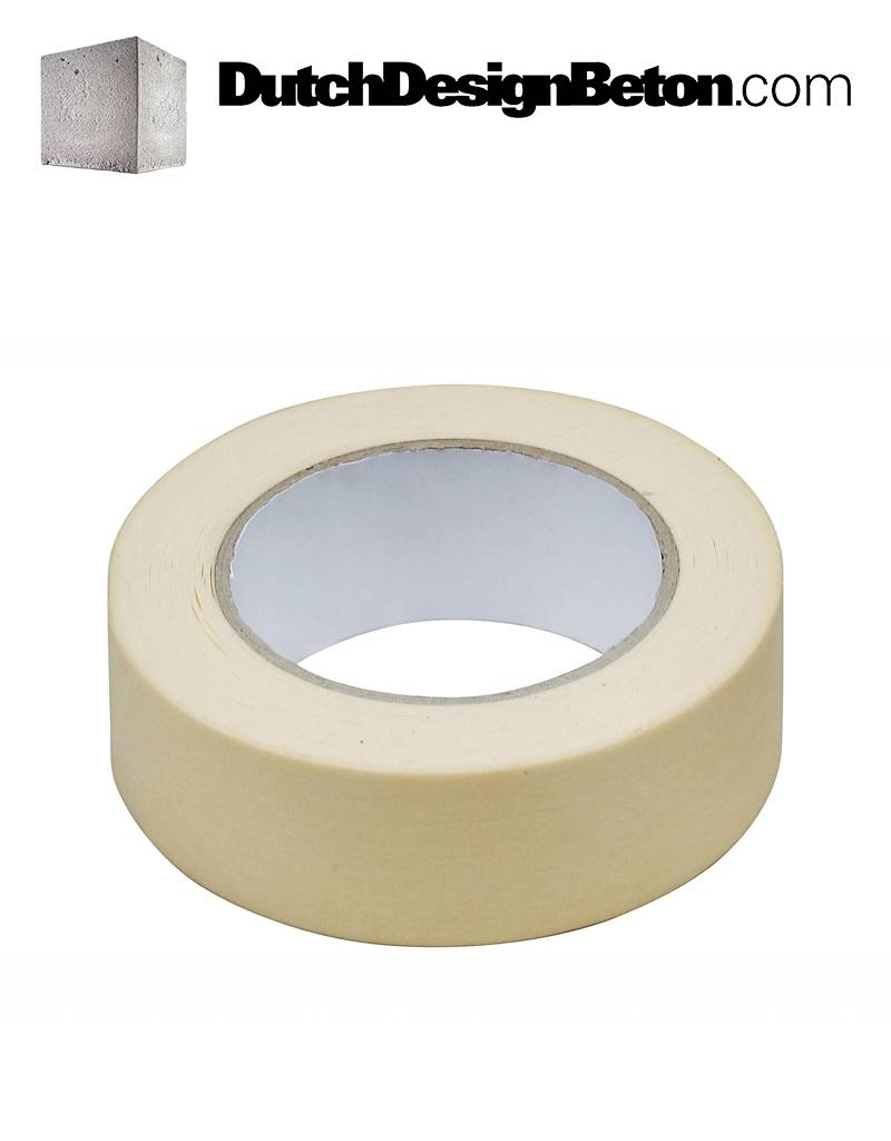 DutchDesignBeton.com Masking tape 50 mm x 50 m