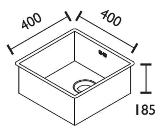 ABK Baronga 40(vlakke inbouw)