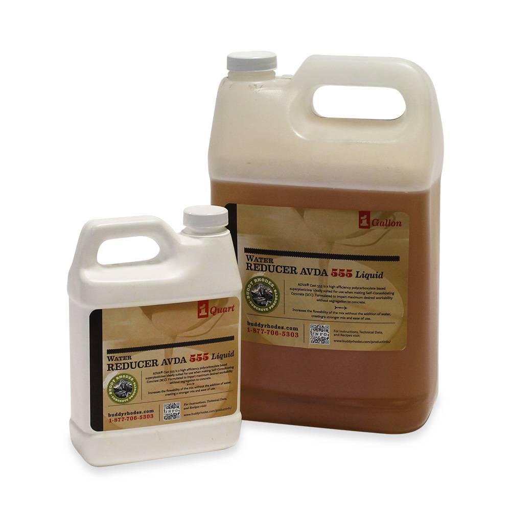 Buddy Rhodes Water Reducer ADVA 555, basiert auf Poycarboxylaten