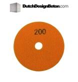 CRTE CRTE Diamond polishing pad grit 200 (Middle)