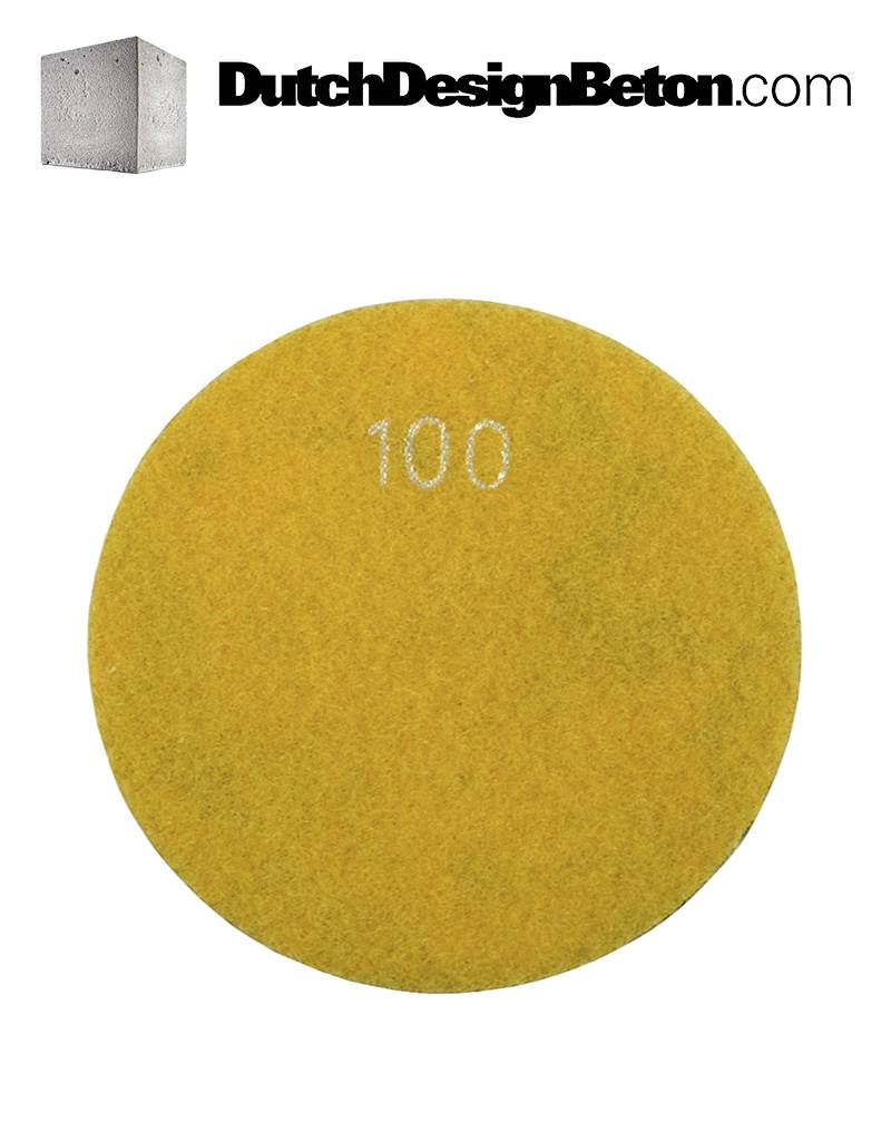 CRTE CRTE Diamond polishing pad grit 100 (coarse)